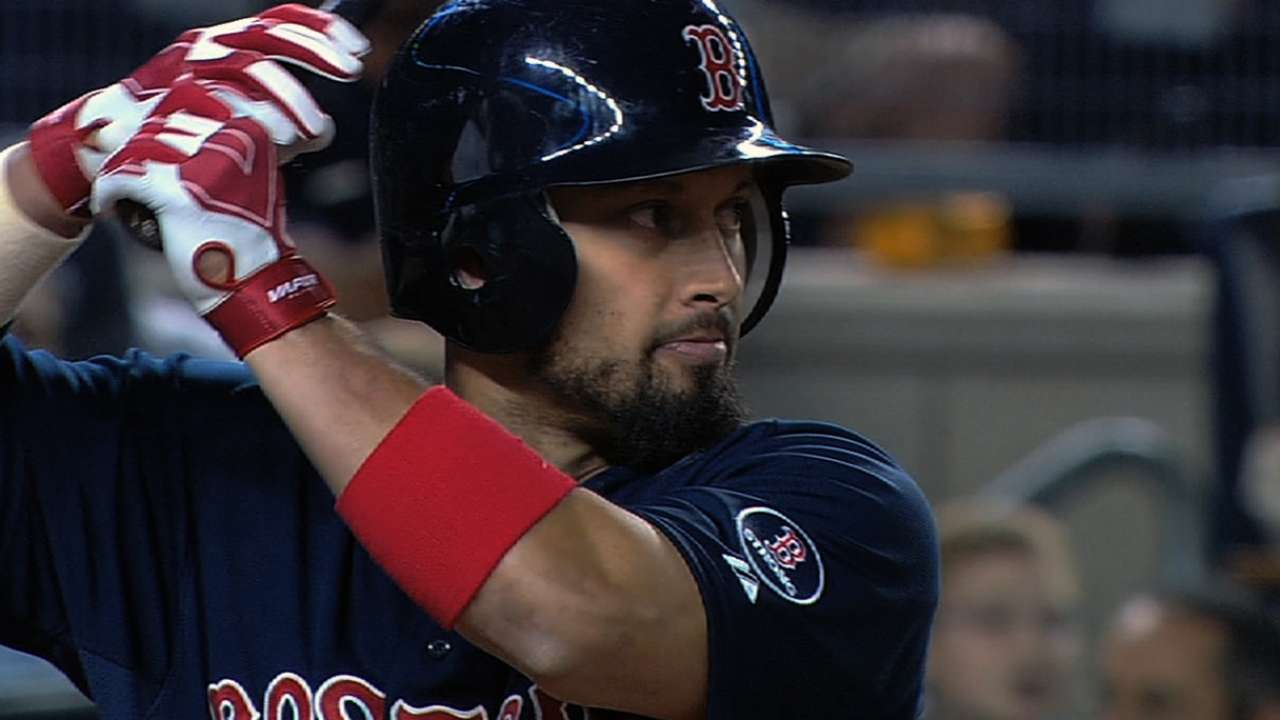 Victorino considering batting right-handed exclusively