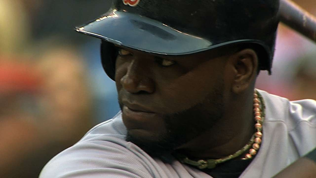 Ortiz reports, launches several homers in BP