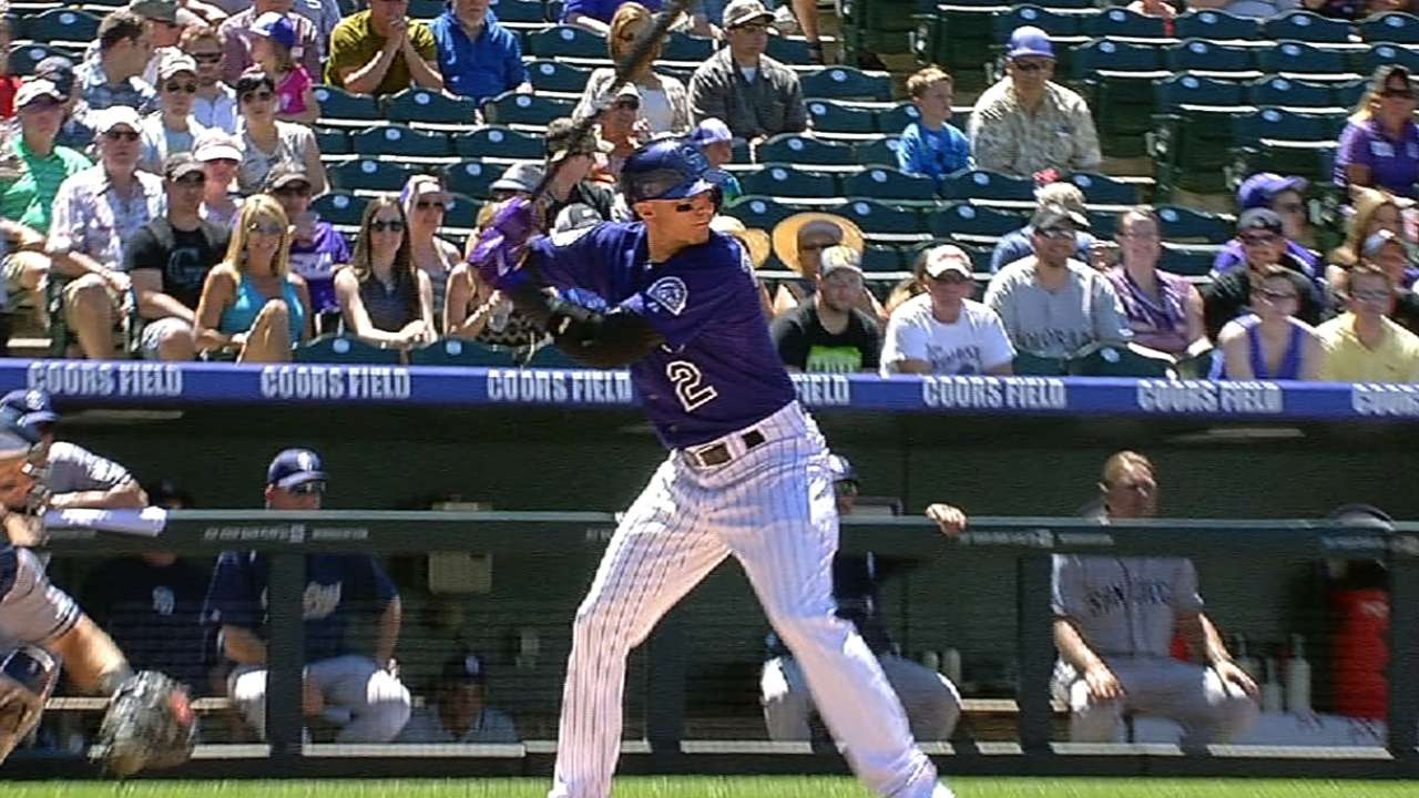 Tulo day to day after getting plunked in leg