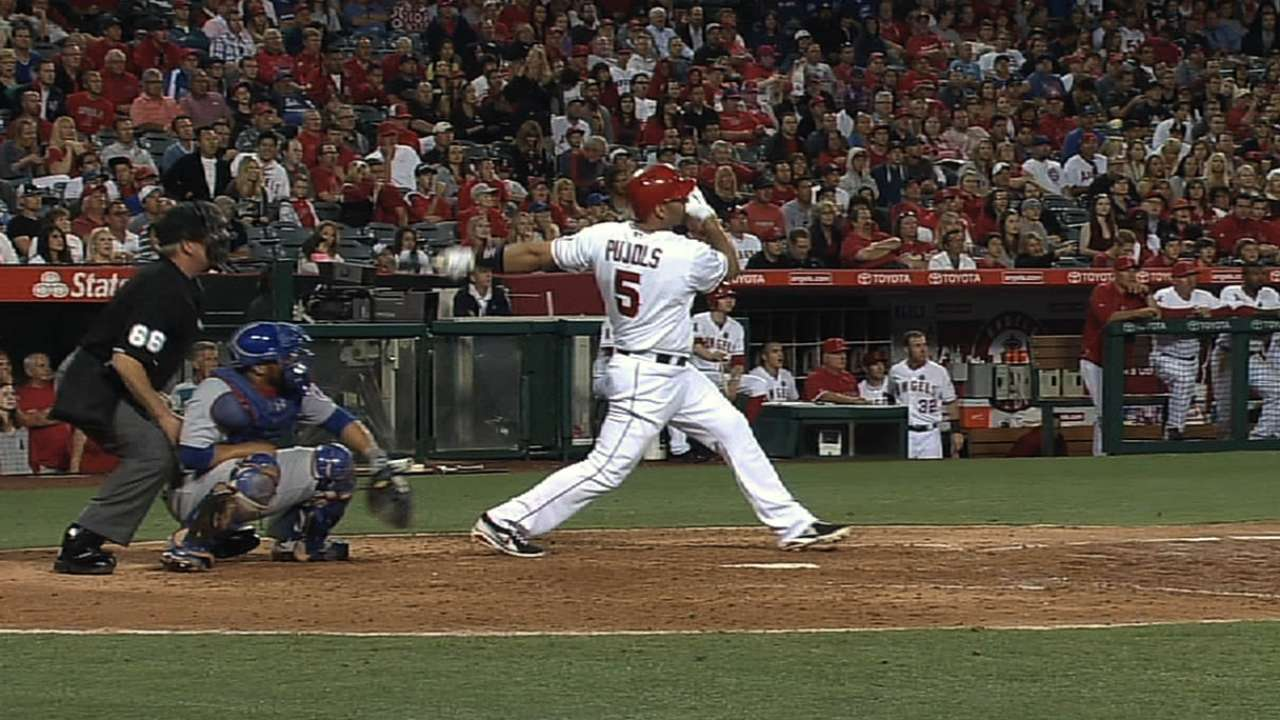 Angels easing Pujols in to Cactus League