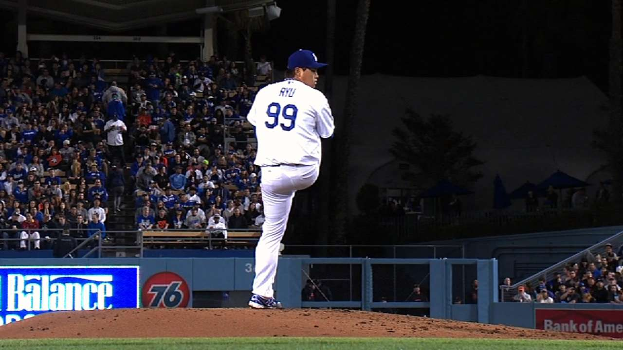 Ryu in better spring shape second time around