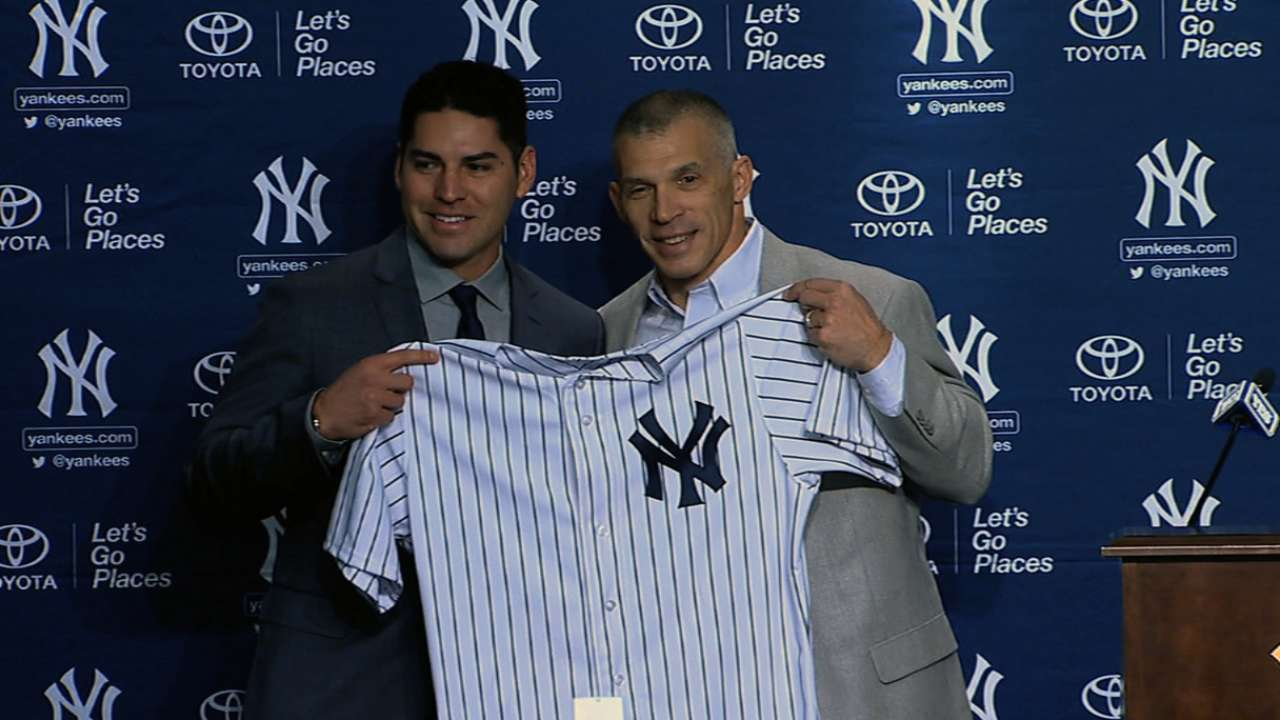 Ellsbury getting used to donning pinstripes