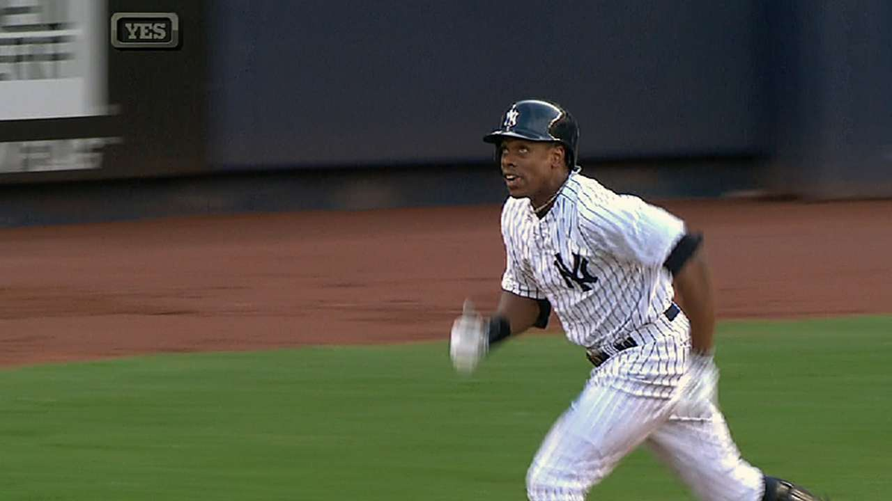 Granderson to play early, often this spring