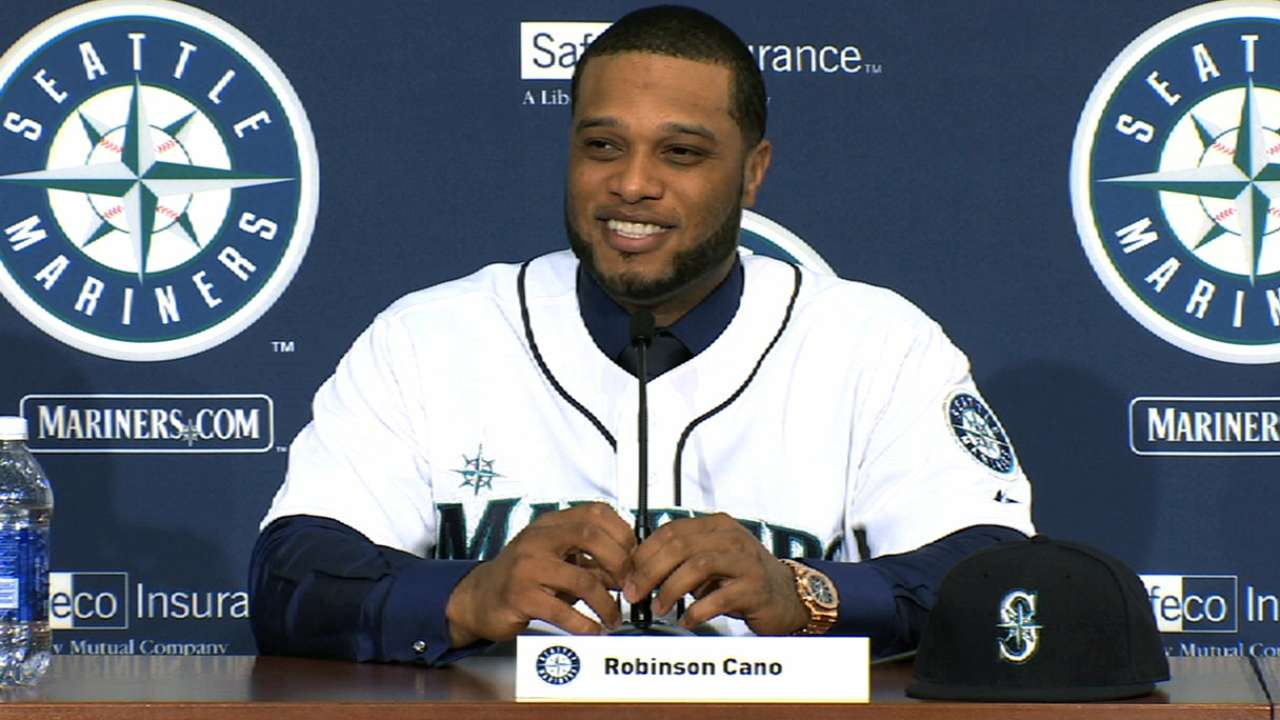 Mariners aware of need to build around Cano