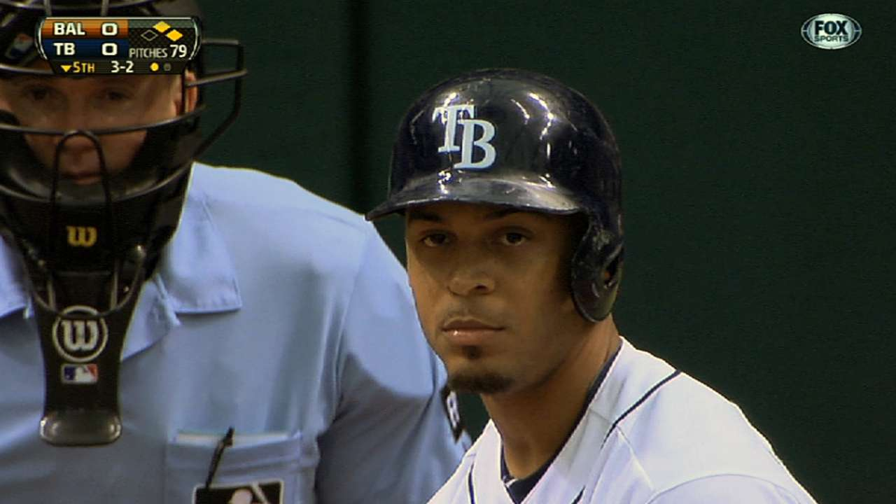 Jennings aims to pick up where he left off for Rays