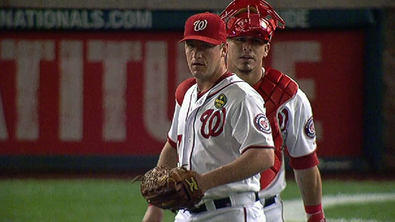 Nats players get an early start on spring workouts