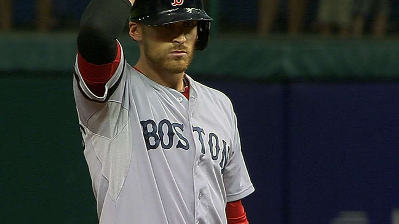 Sox sting Rays on Middlebrooks' clutch double