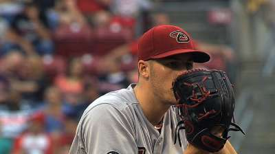 No announcement yet on D-backs' opening starters