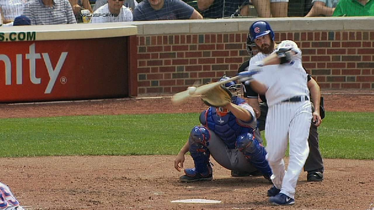 Cubs helped, hurt by homers in loss to Mets