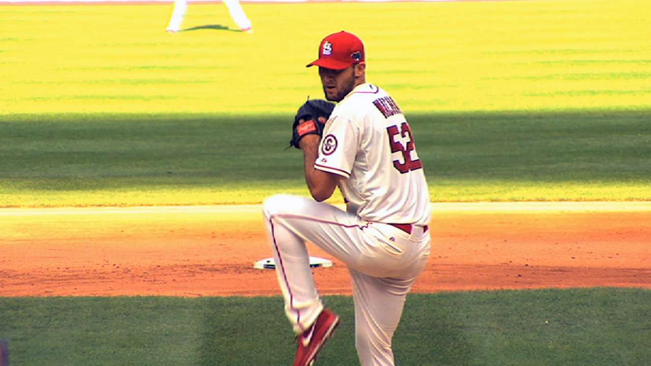 Wacha focused on earning spot in rotation