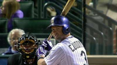 Spot in batting order 'all the same' to Cuddyer