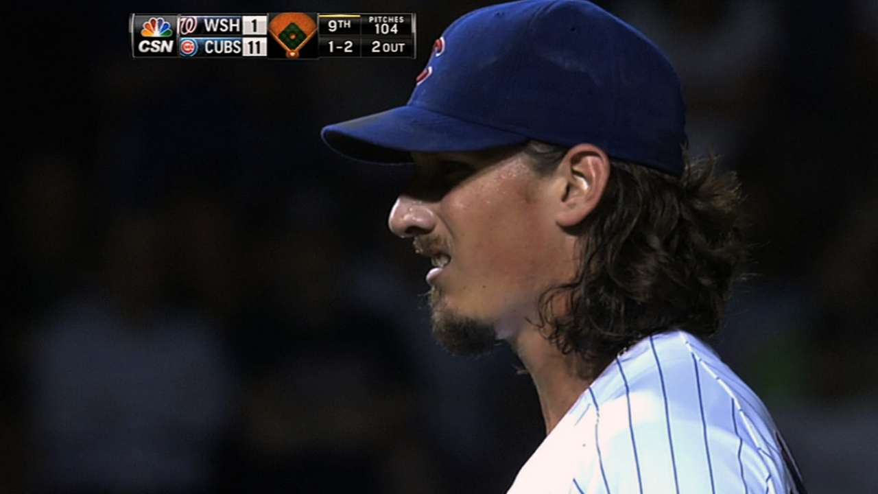 Samardzija focusing on fastball command, sinker