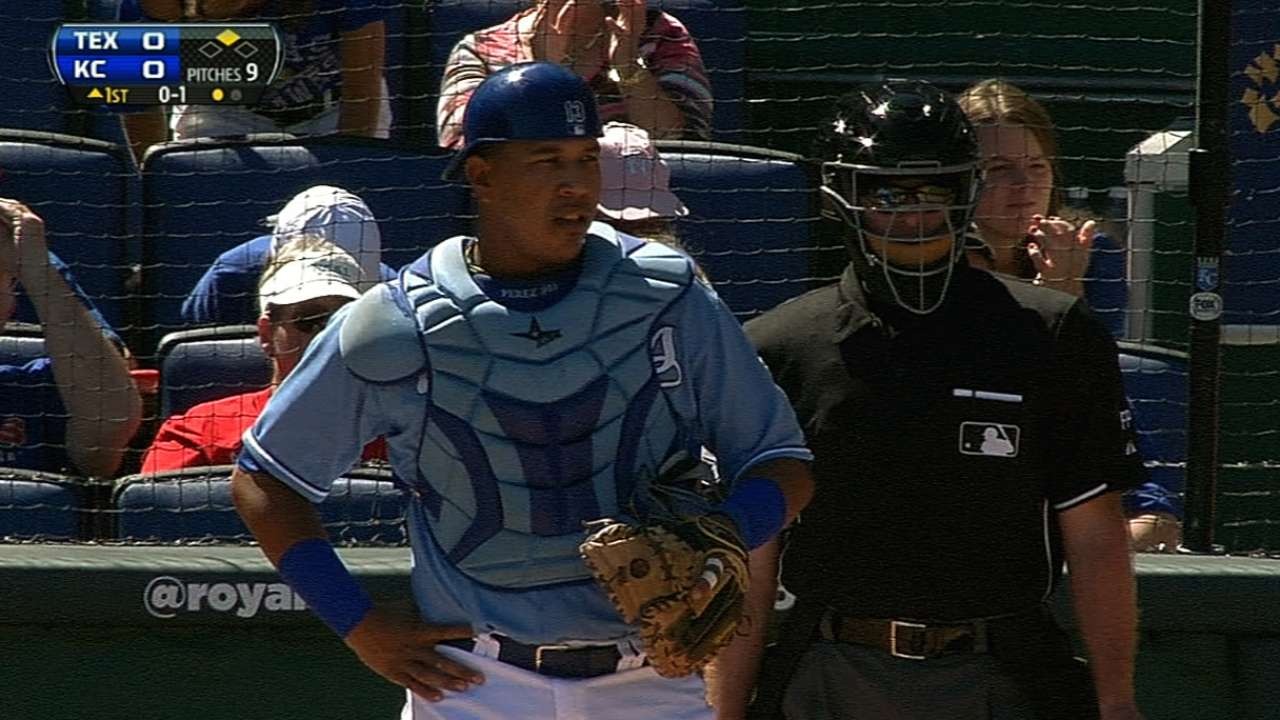 Royals want to guard against Perez's concussions