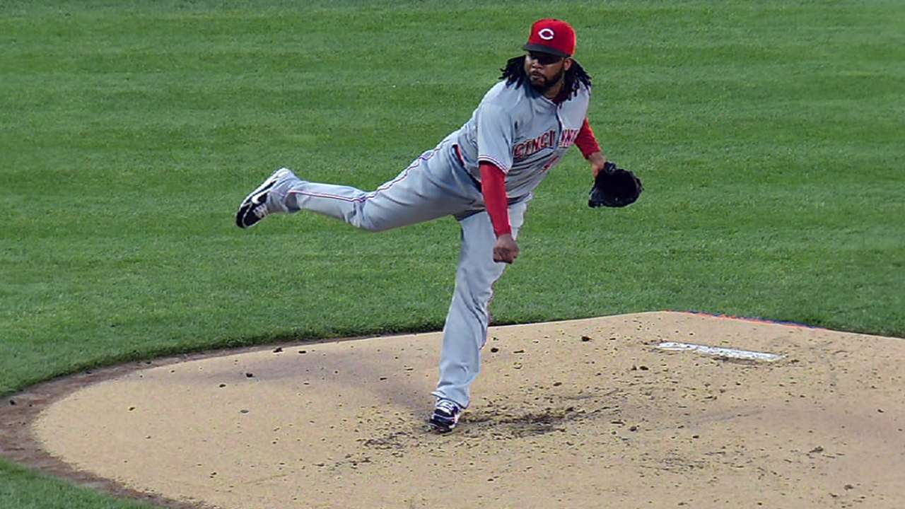 Cueto has no lingering injury issues