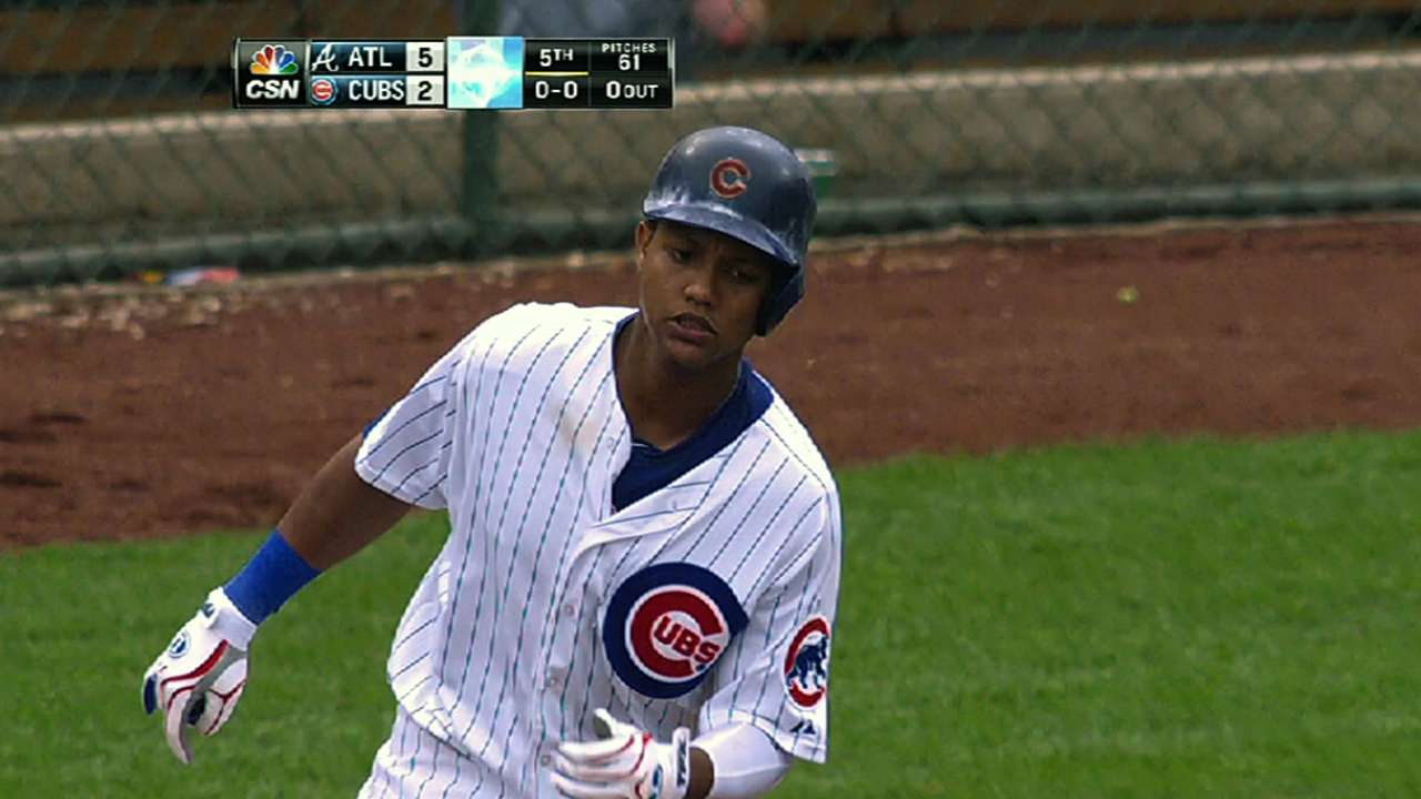 Cubs confident in Starlin with Baez in the wings