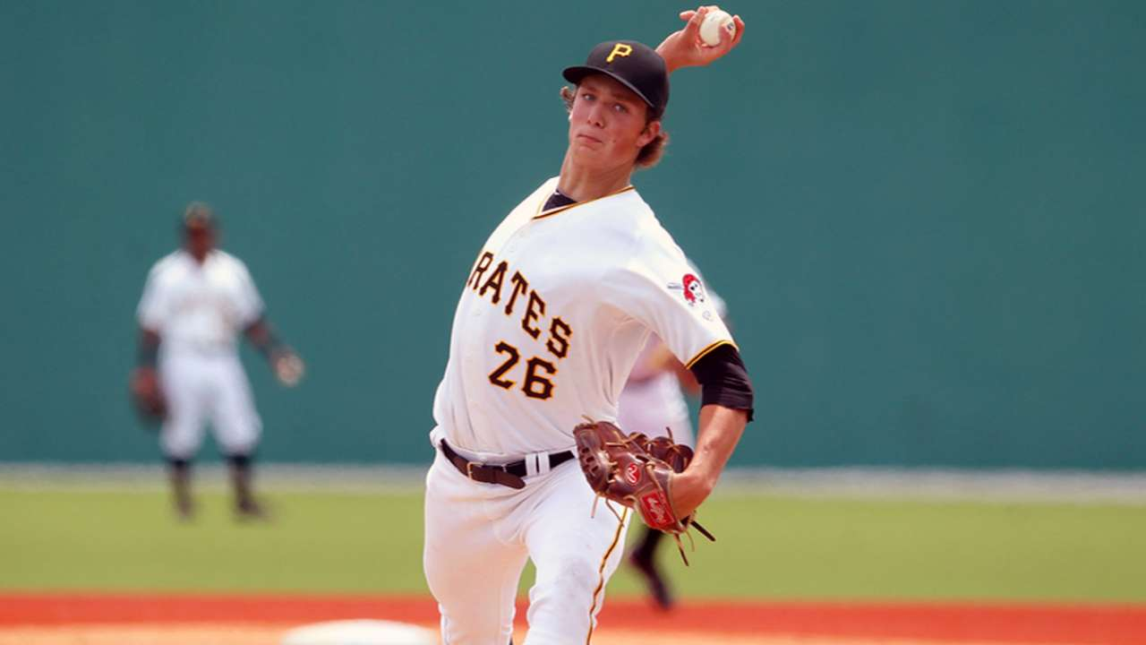 Bucs prospect Glasnow has strikeout stuff