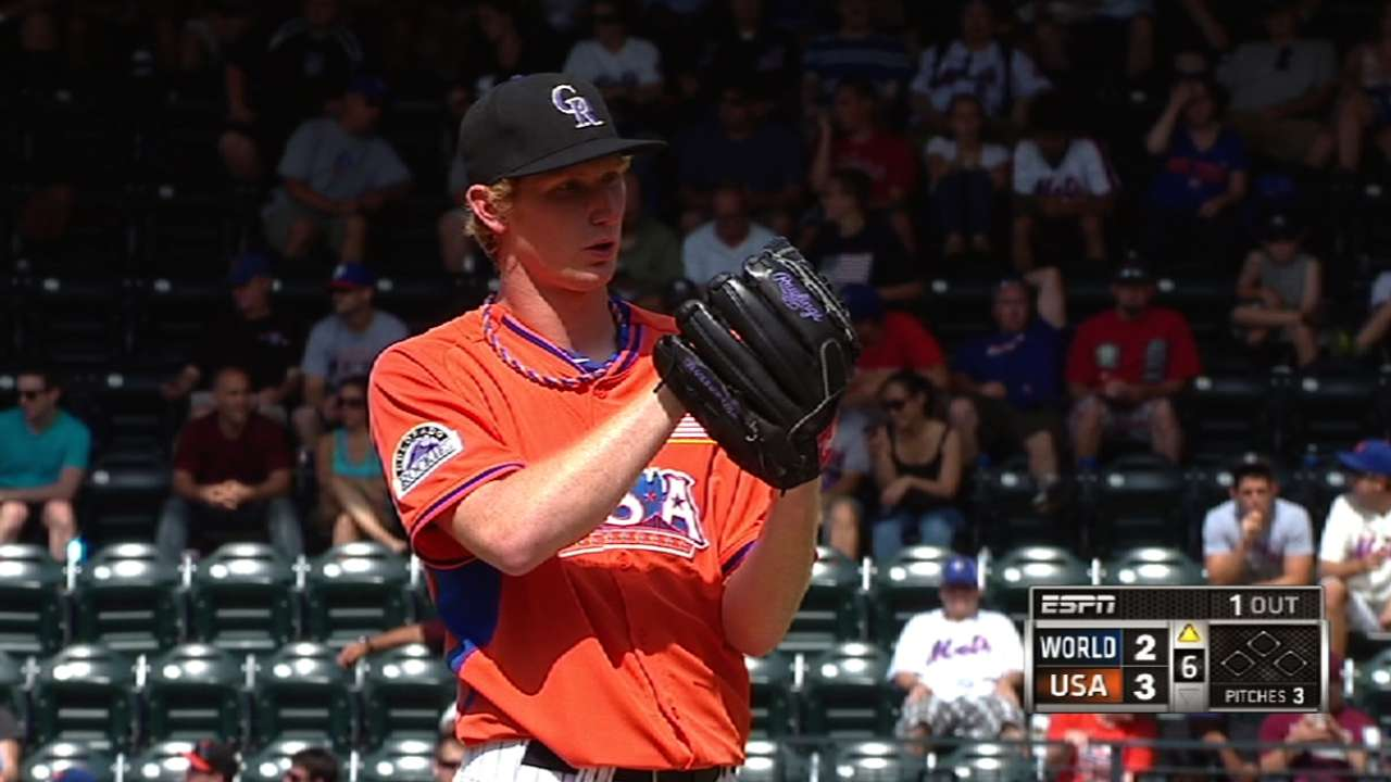 Butler works three innings on night of prospects