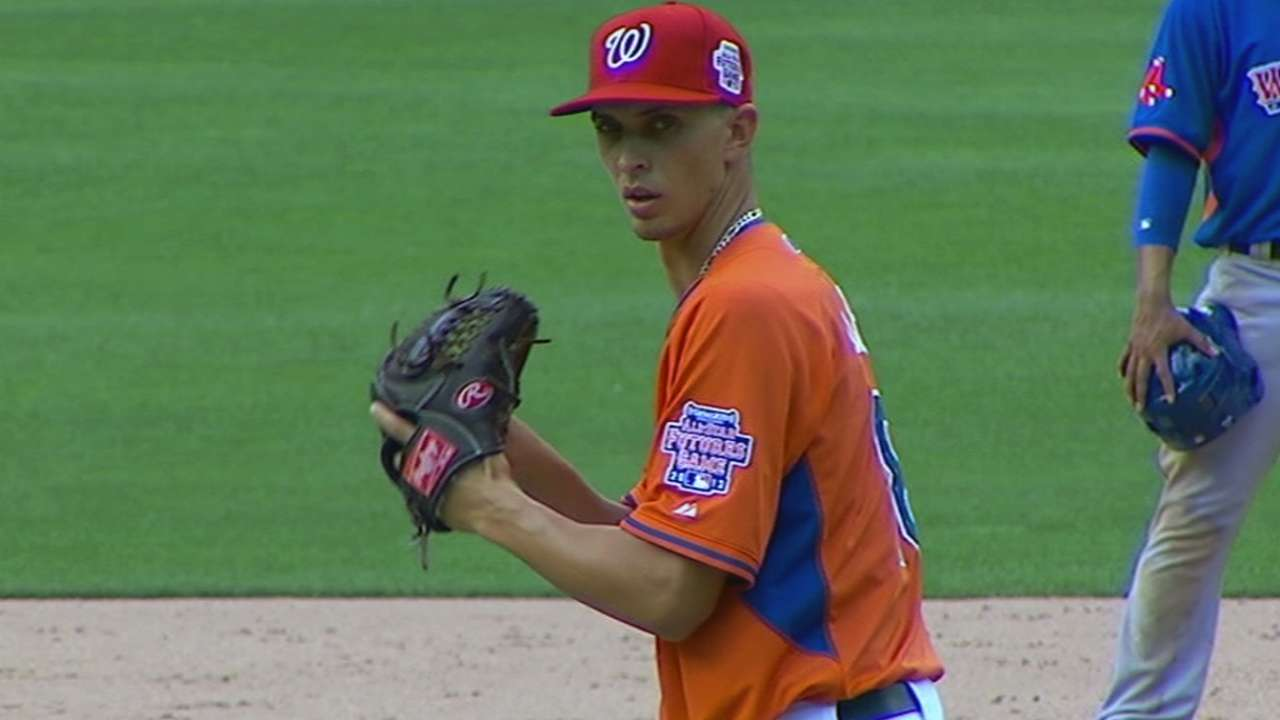 Cole pitches first complete-game shutout in Double-A