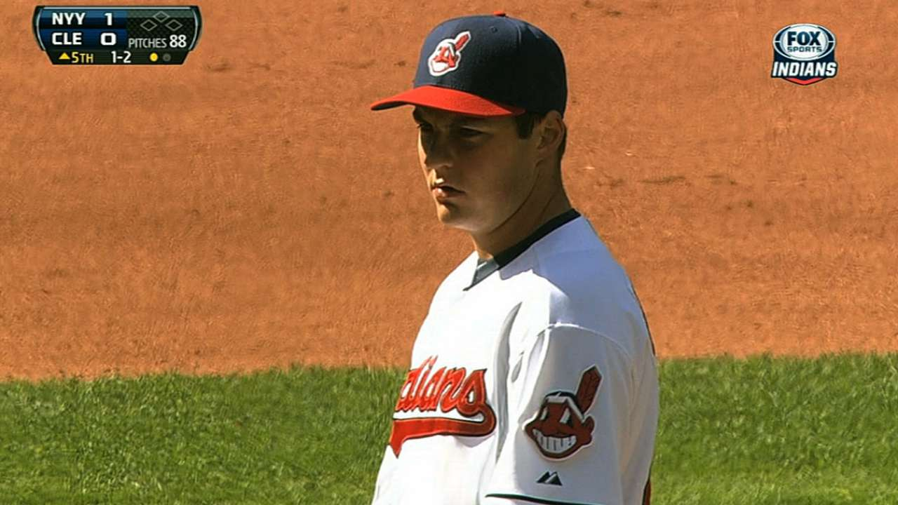 Tribe tabs improving Bauer to start twin-bill nightcap