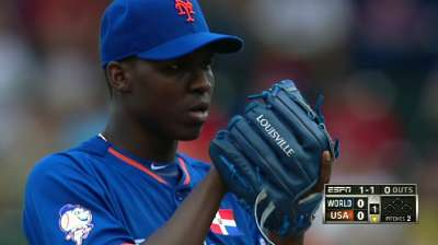 Mets set Grapefruit League rotation in motion