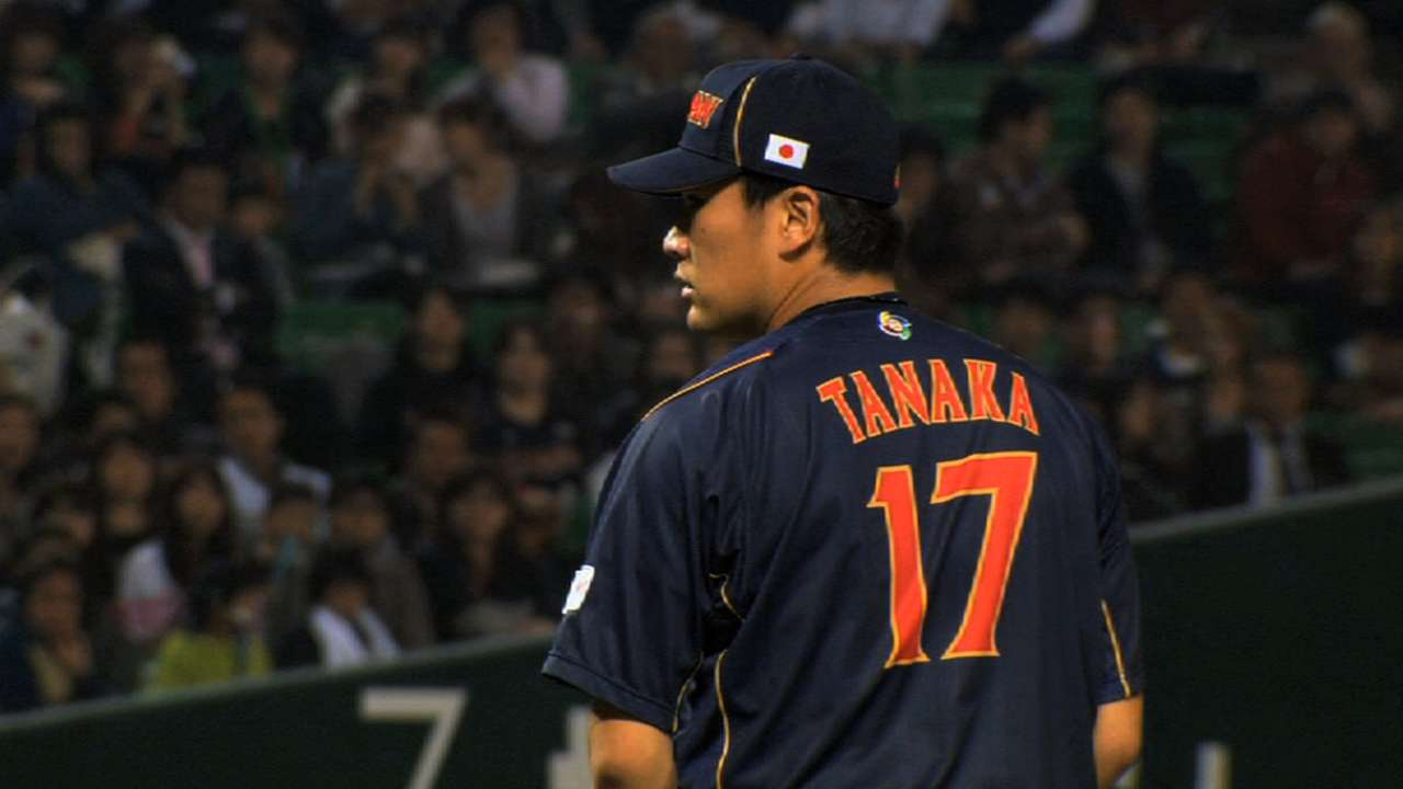 Race for Tanaka reportedly down to four teams