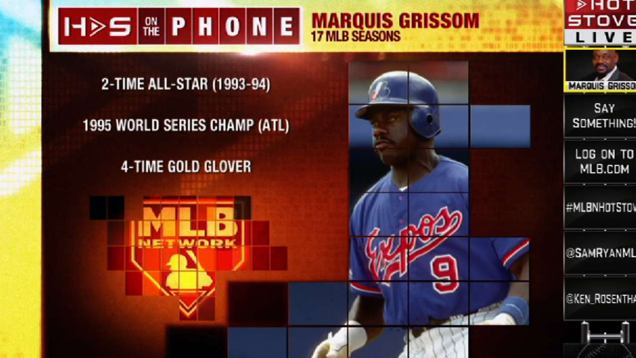 Marquis Grissom reminisces 1995 World Series | MLB com
