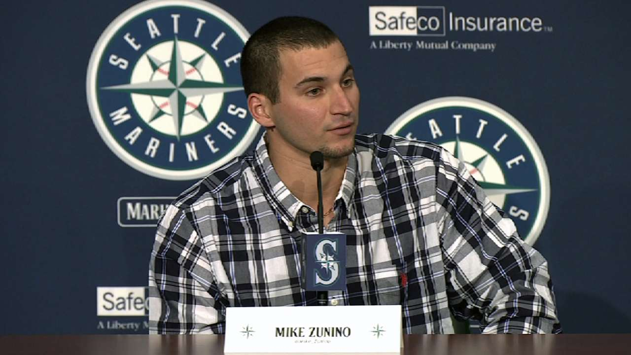 Buck more than Zunino's mentor with Mariners