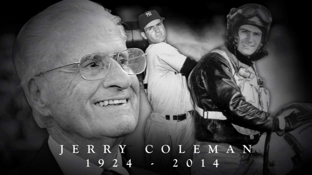 Padres colleagues share fond memories of Coleman