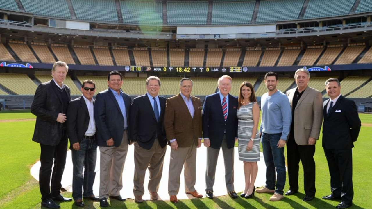 Dodgers set to launch SportsNet LA on Feb. 25