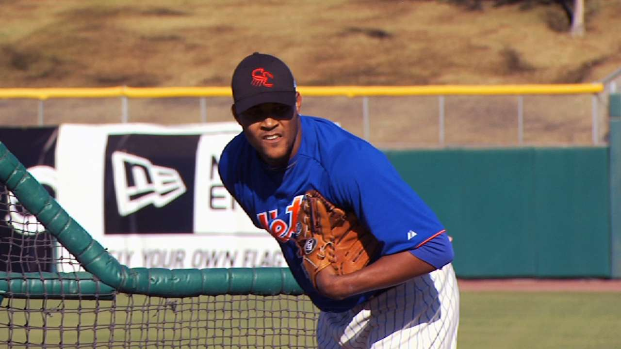 Familia shows potential to dominate with power arm