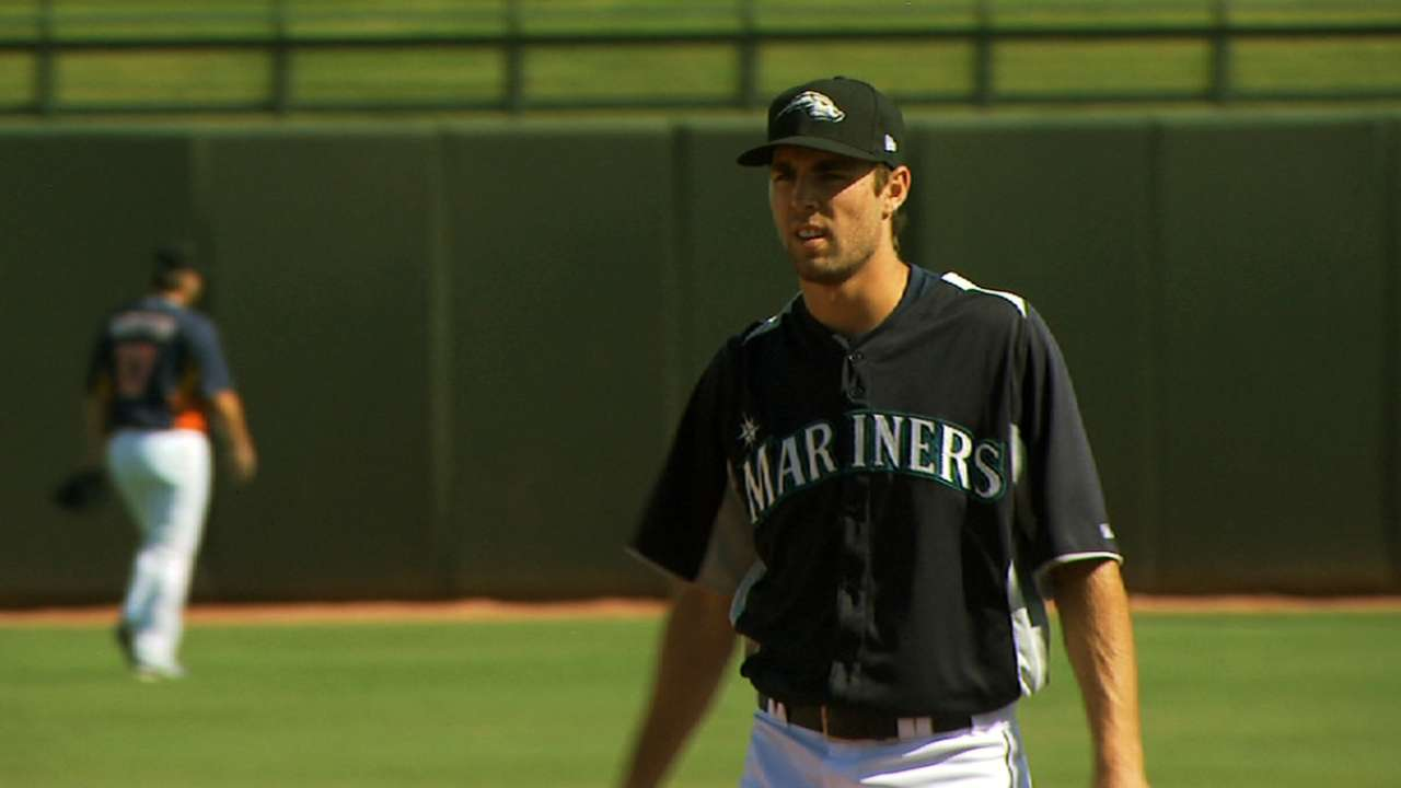 Taylor a bright light in Mariners system