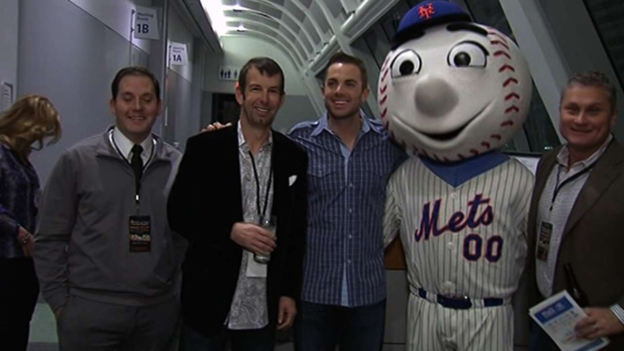 Wright excited for what future holds for Mets