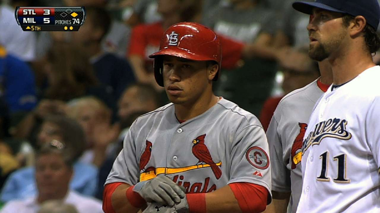 Cardinals prospect Wong eyeing big league gig