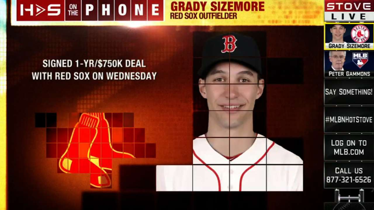 Inbox: Will Sizemore win center-field job in camp?