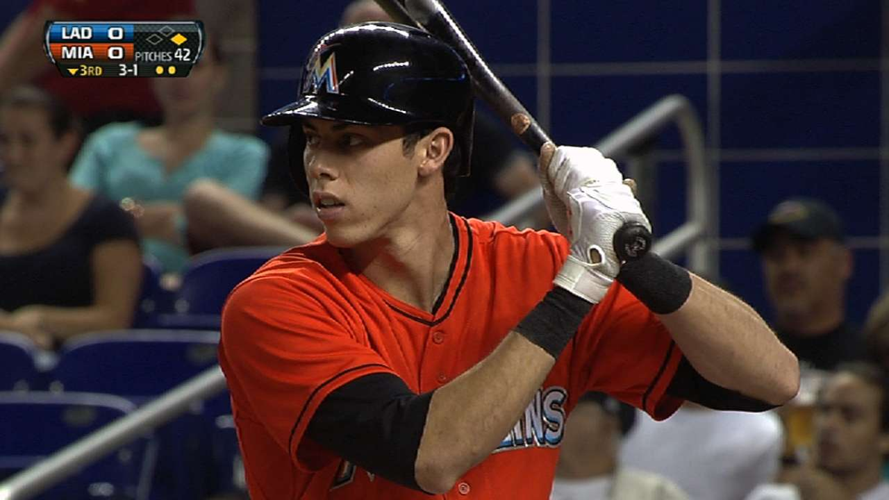 At home in left, Yelich can slide over if need be