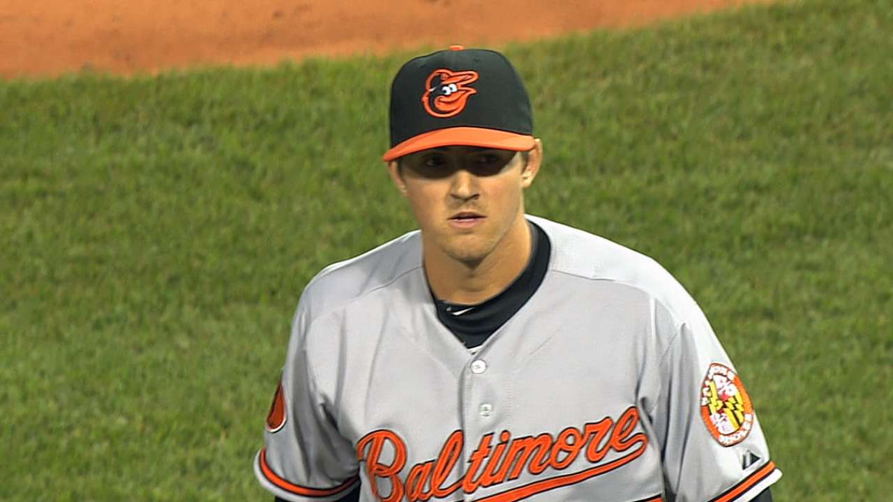 Gausman looking to make O's decision difficult
