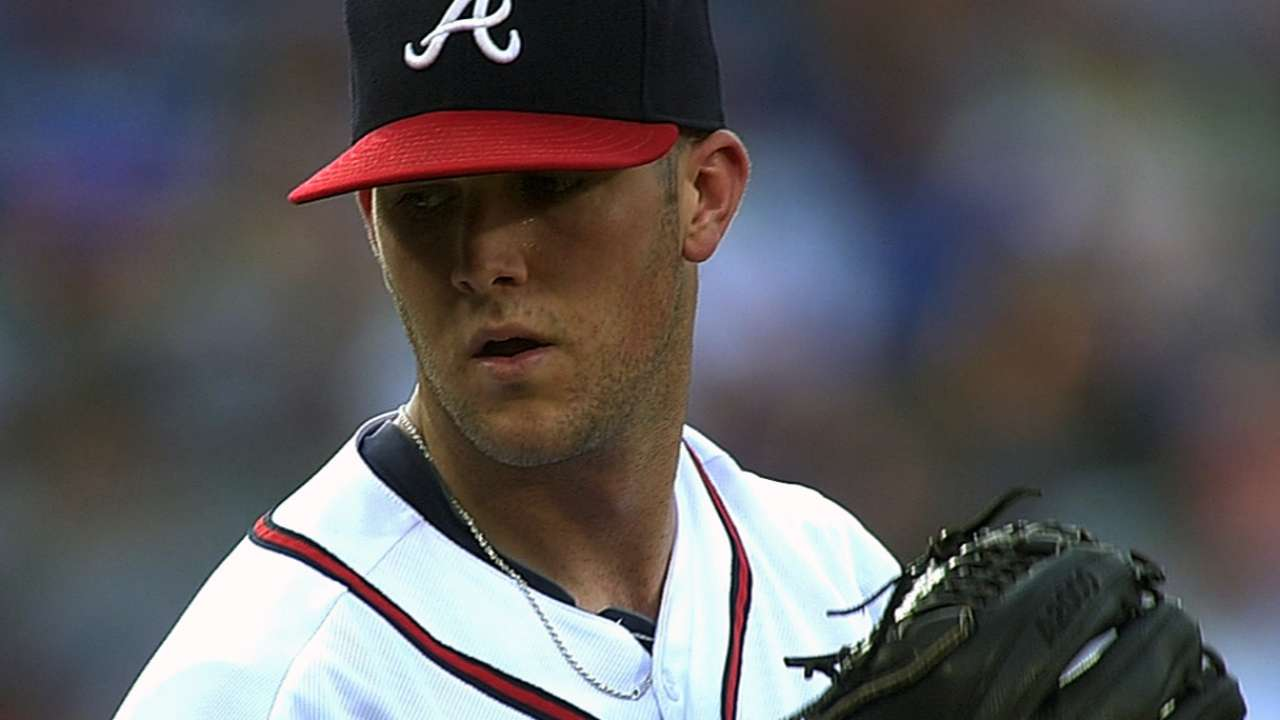 Wood's competitive fire impresses Braves