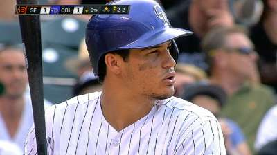 Weiss doesn't expect sophomore slump from Arenado