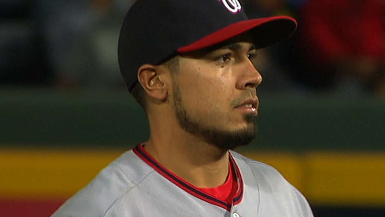 Williams not worried about Rendon, Espinosa