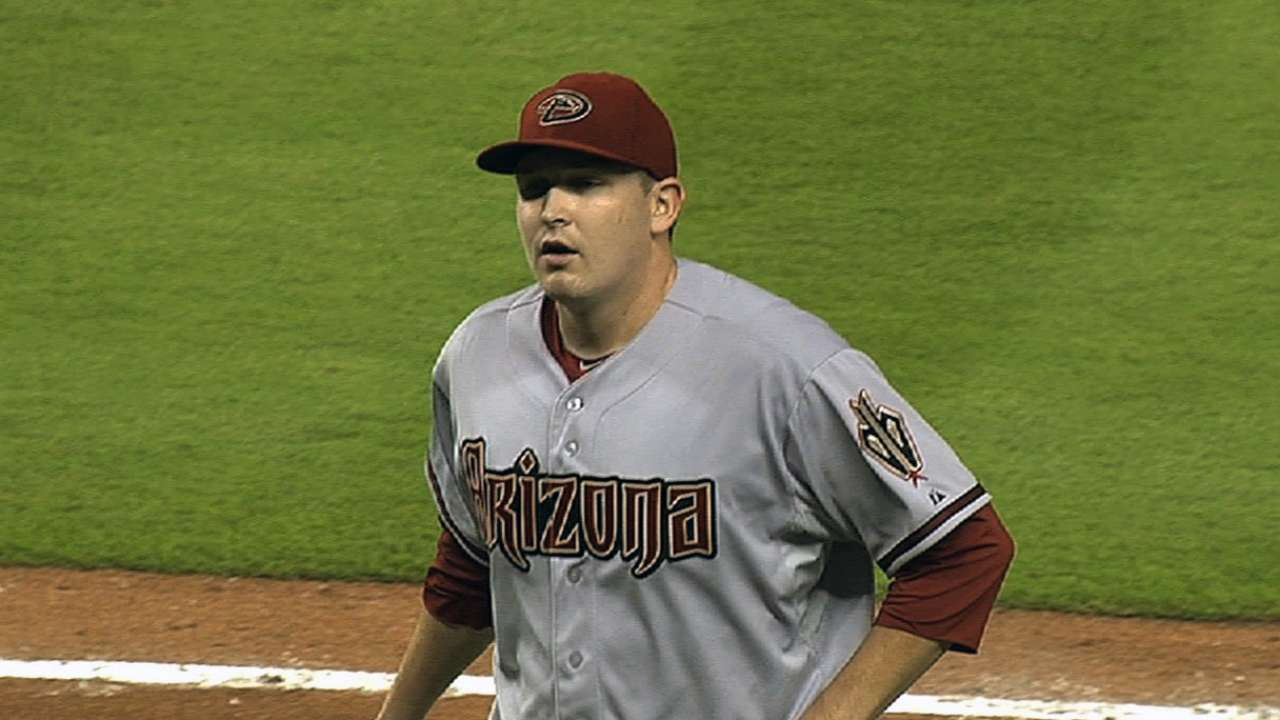 Cahill giving D-backs reason to be optimistic