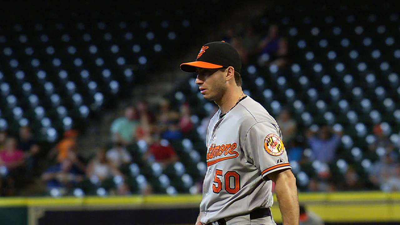 On short notice, Gonzalez dominates for O's
