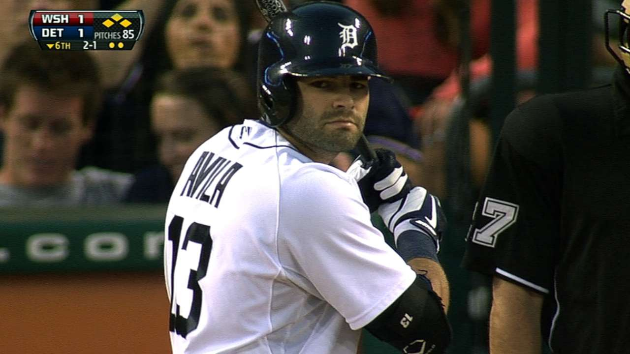 Tigers' deal with Avila clears arbitration slate