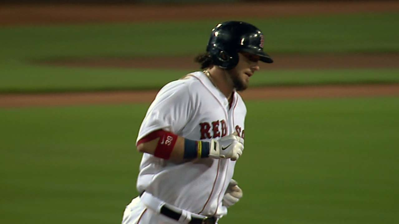 Saltalamacchia sets standard for work ethic