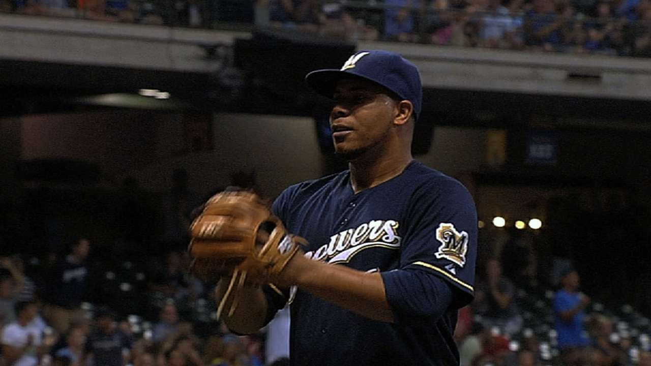 Peralta might not be caught exclusively by Maldonado