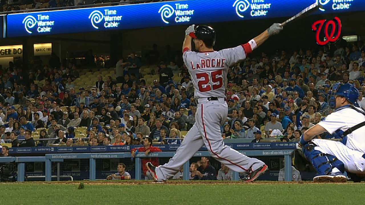 New-look LaRoche says he's ready to bounce back