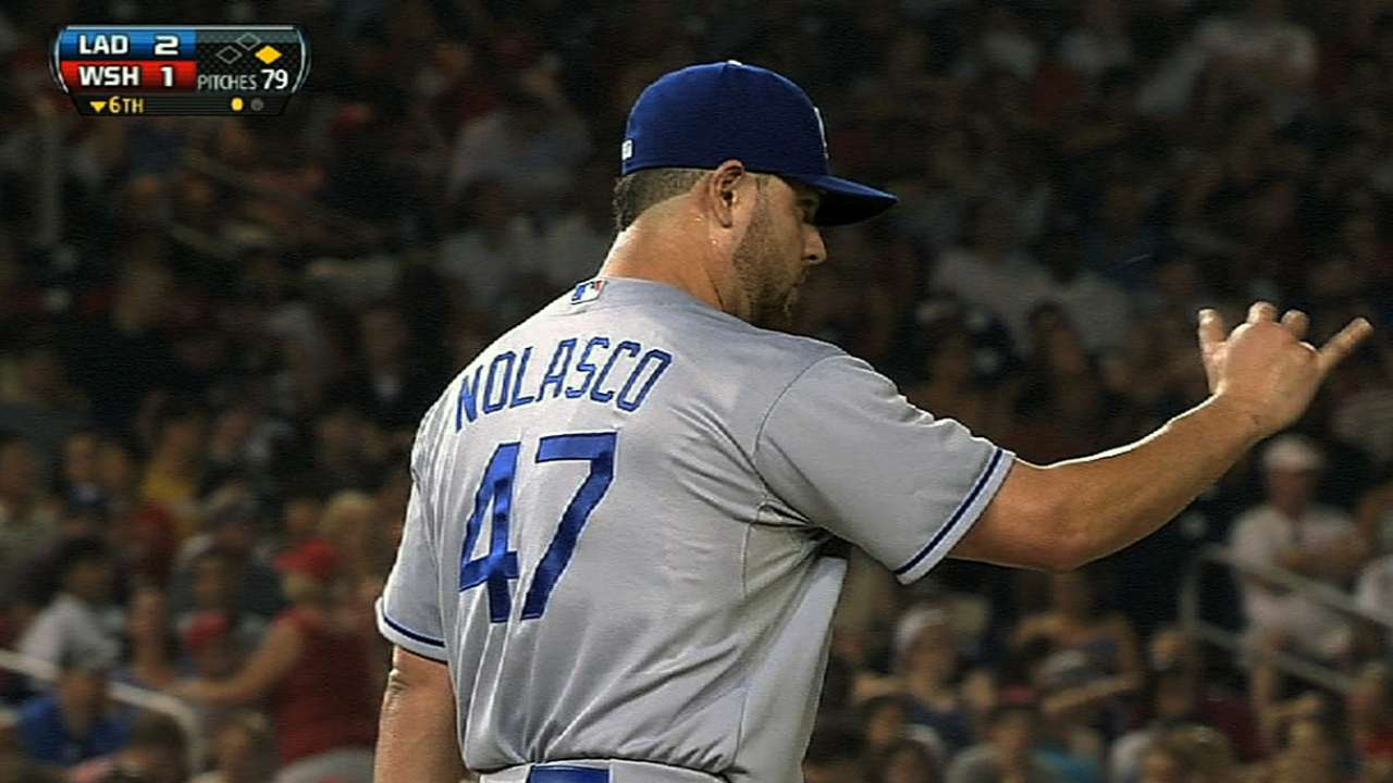Nolasco makes strong Spring Training debut