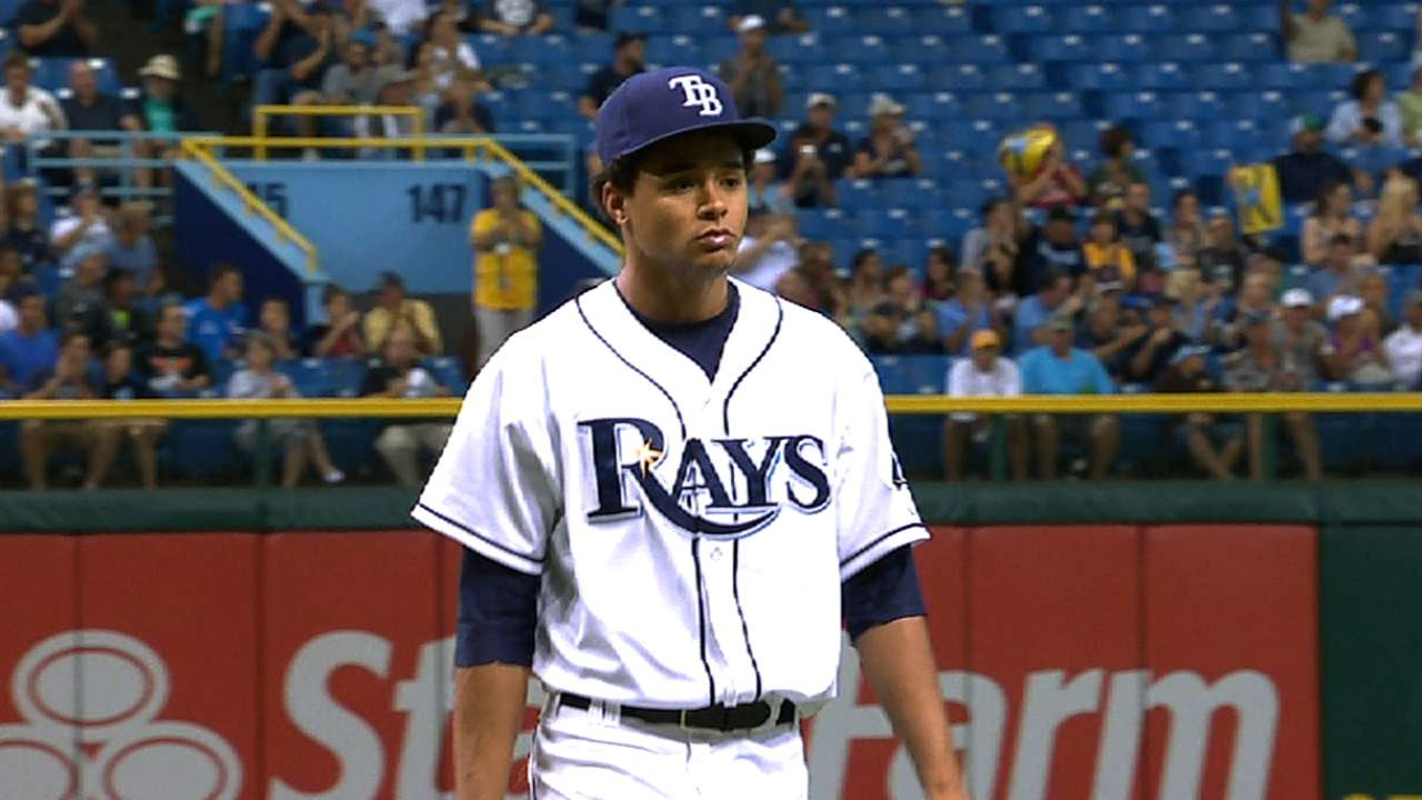 Archer deals scoreless outing in Rays' exhibition