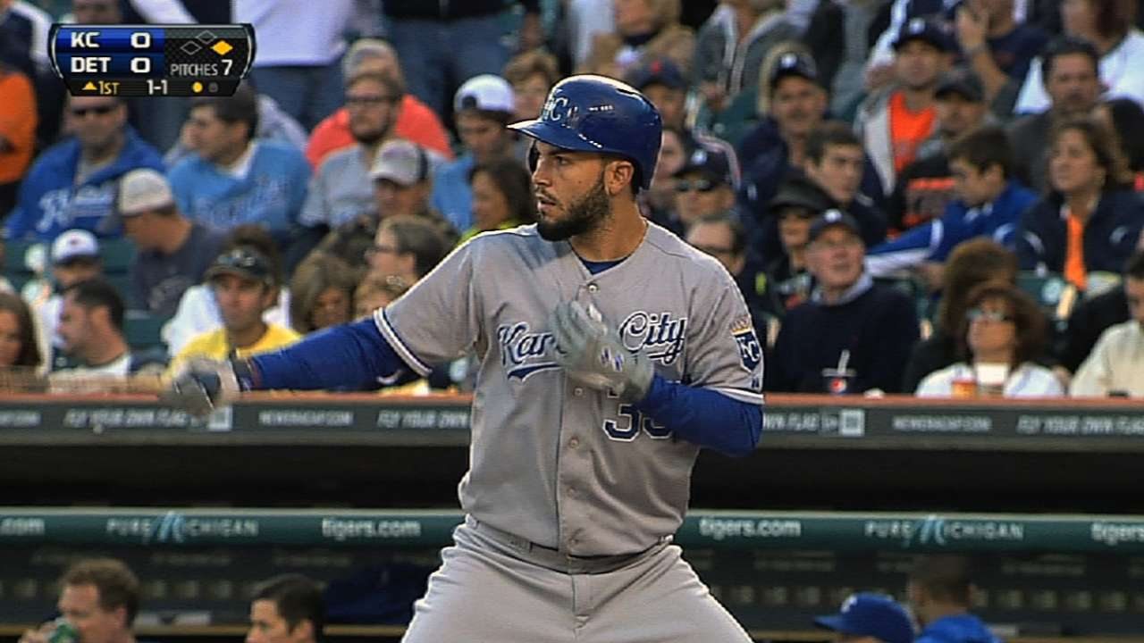 Hosmer keeps on swinging for greater success