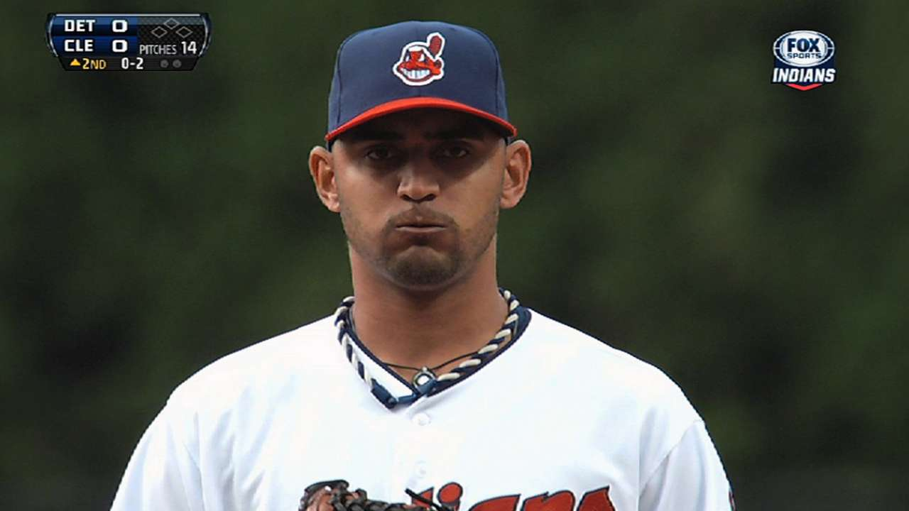 Indians content taking it slow with Salazar