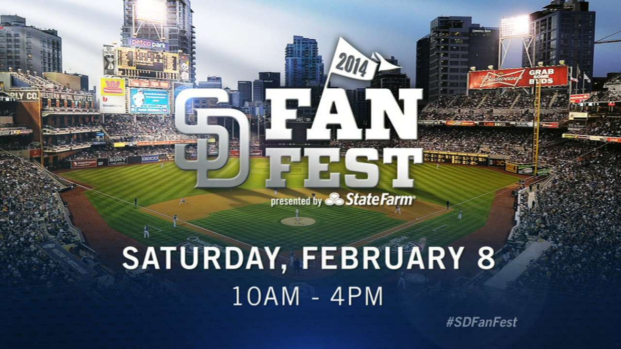 Players, Padres Packs highlight FanFest
